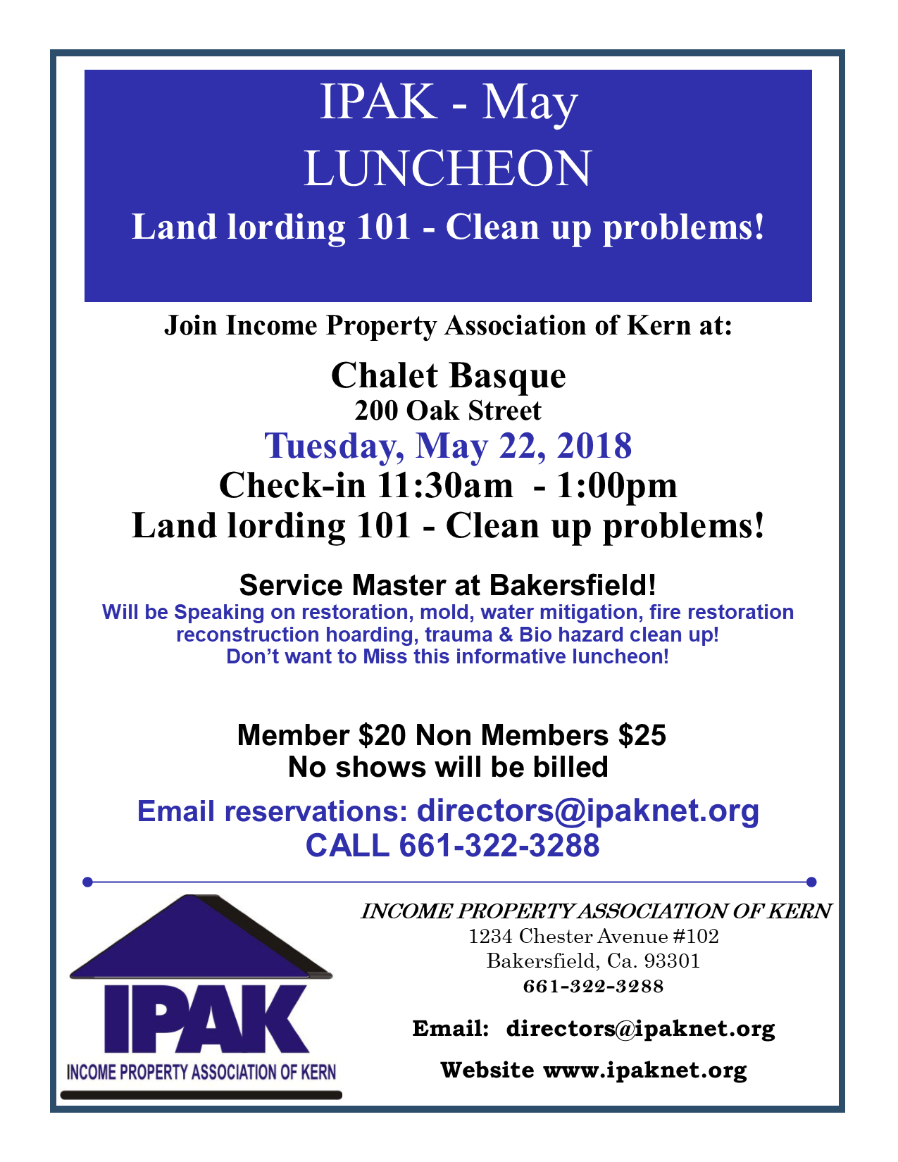 Marti Harbin May Luncheon